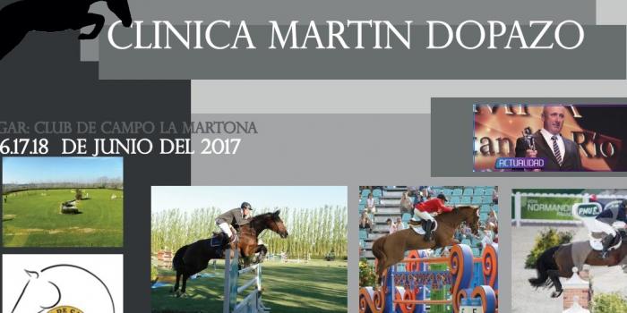 Clínica de Salto dictada por Martin Dopazo los días 16, 17 y 18 de junio